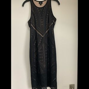 Mossimo long patterned dress